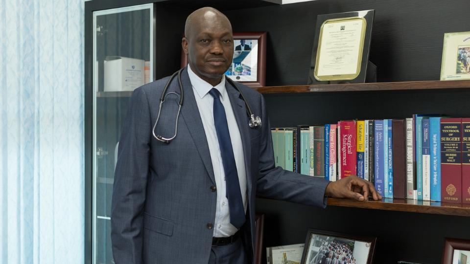 Orthopedic Center in Kenya | Orthopedic Surgeon in Kenya | Col (Dr